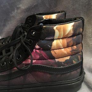 a642cf4715 Vans Shoes - Vans Ombré Floral Sk8-Hi Slim women s 7.5